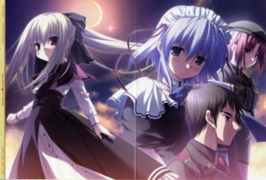 Rating: Safe Score: 7 Tags: chikotam crease eden elica lavinia_f.asai maid minori ryo_haruna sion uniform wallpaper User: admin2