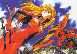 Rating: Questionable Score: 24 Tags: bodysuit erect_nipples eva_02 fixme neon_genesis_evangelion sadamoto_yoshiyuki souryuu_asuka_langley weapon User: Radioactive