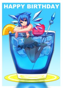 Rating: Safe Score: 22 Tags: bikini cirno mibuki397 swimsuits touhou wings User: Radioactive