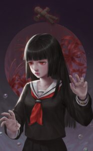 Rating: Safe Score: 15 Tags: enma_ai jigoku_shoujo seifuku seth_(artist) User: BattlequeenYume