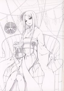Rating: Safe Score: 4 Tags: bondage kimono line_art monochrome noantica ooji User: fireattack