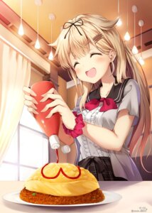 Rating: Safe Score: 47 Tags: kantai_collection nyum signed yuudachi_(kancolle) User: Mr_GT