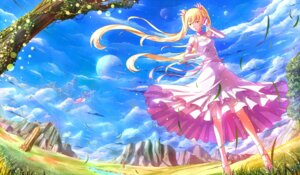 Rating: Safe Score: 37 Tags: dress kazeno landscape User: fireattack