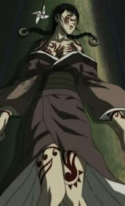 Rating: Questionable Score: 2 Tags: asano_rin blade_of_the_immortal blood cleavage kimono User: AsaNoHikari