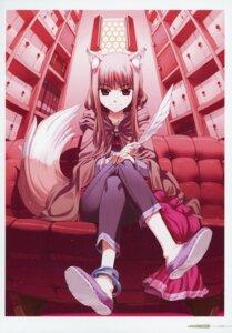Rating: Safe Score: 14 Tags: animal_ears holo koume_keito spice_and_wolf tail User: kiyoe