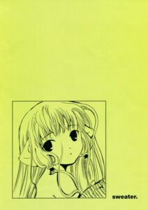 Rating: Safe Score: 4 Tags: chii chobits clamp monochrome User: Share