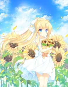 Rating: Safe Score: 37 Tags: air aiyan dress kamio_misuzu summer_dress User: Mr_GT