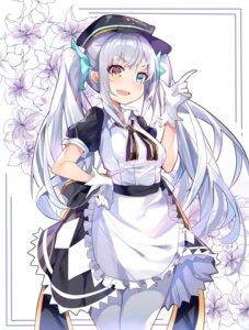 Rating: Safe Score: 23 Tags: heterochromia hololive kagura_mea kokuri maid pantyhose User: Mr_GT