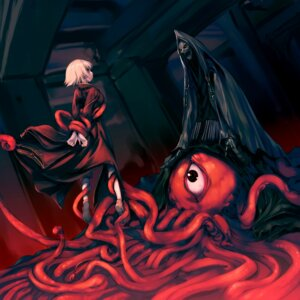 Rating: Explicit Score: 25 Tags: hitomaru shrine tentacles User: fireattack
