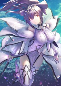 Rating: Safe Score: 18 Tags: dress fate/grand_order itaco1987 scathach_skadi thighhighs weapon User: Mr_GT