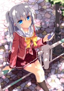 Rating: Safe Score: 78 Tags: charlotte nanairo_fuusen seifuku tomori_nao User: Mr_GT