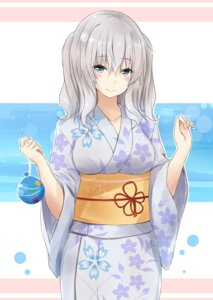 Rating: Safe Score: 36 Tags: kantai_collection kashima_(kancolle) saku_(kudrove) yukata User: Mr_GT