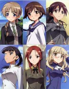 Rating: Safe Score: 16 Tags: gertrud_barkhorn lynette_bishop minna_dietlinde_wilcke miyafuji_yoshika perrine-h_clostermann sakamoto_mio screening strike_witches User: admin2