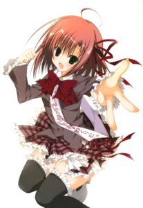 Rating: Safe Score: 27 Tags: inugami_kira sakurano_kurimu seitokai_no_ichizon thighhighs User: Radioactive