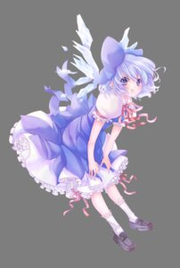 Rating: Safe Score: 14 Tags: cirno dress pompier touhou transparent_png User: charunetra