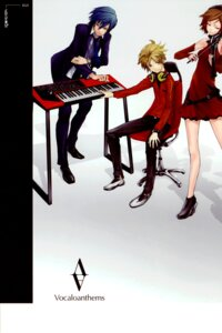 Rating: Safe Score: 12 Tags: color_issue kagamine_len kaito meiko redjuice vocaloid User: Radioactive