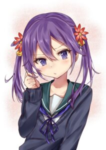 Rating: Safe Score: 57 Tags: akebono_(kancolle) kantai_collection nanakagura seifuku sweater User: mash