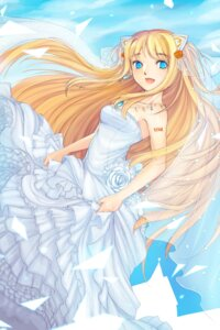 Rating: Safe Score: 18 Tags: dress momiyan seeu vocaloid wedding_dress User: Radioactive
