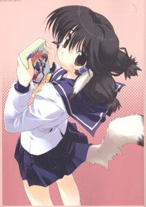 Rating: Safe Score: 9 Tags: amaduyu_tatsuki animal_ears aruruu inumimi screening seifuku utawarerumono User: blooregardo