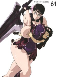 Rating: Questionable Score: 6 Tags: breast_grab cattleya kaneko_hiraku queen's_blade rana User: HSkeleton