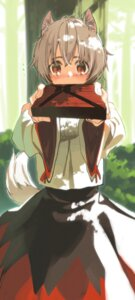 Rating: Safe Score: 27 Tags: animal_ears inubashiri_momiji seu_kaname tail touhou User: Mr_GT