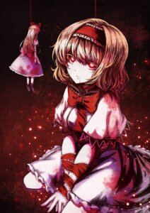 Rating: Safe Score: 19 Tags: alice_margatroid blood bondage koissa touhou User: Mr_GT