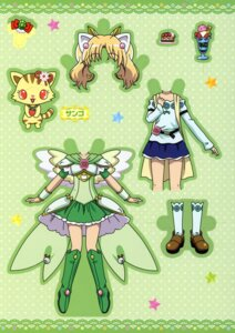 Rating: Safe Score: 2 Tags: animal_ears character_design dress ibe_yukiko jewelpet jewelpet_twinkle miria_marigold_mackenzie miyakawa_tomoko neko nekomimi sango_(jewelpet_twinkle) wings User: midzki