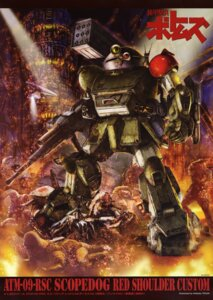 Rating: Safe Score: 3 Tags: mecha tenjin_hidetaka votoms User: Radioactive