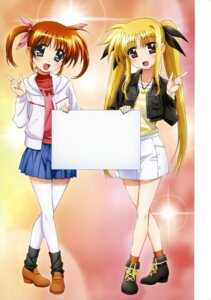 Rating: Safe Score: 25 Tags: fate_testarossa mahou_shoujo_lyrical_nanoha mahou_shoujo_lyrical_nanoha_the_movie_1st takamachi_nanoha thighhighs User: blooregardo