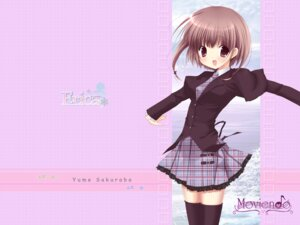 Rating: Safe Score: 10 Tags: miyasaka_miyu moviendo seifuku thighhighs wallpaper User: topcdmouse