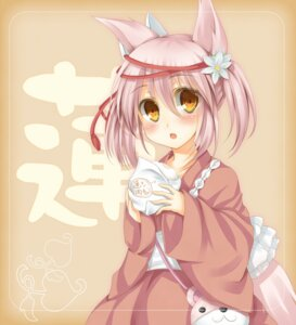 Rating: Safe Score: 26 Tags: animal_ears irotoridori_no_sekai japanese_clothes kagura_yuu nekomimi ren_(irotoridori_no_sekai) User: Nekotsúh