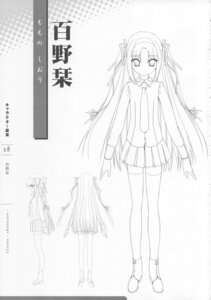 Rating: Safe Score: 7 Tags: 11eyes lass momono_shiori monochrome sketch User: admin2