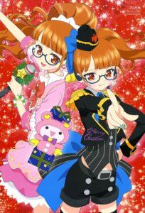Rating: Safe Score: 13 Tags: christmas dress hara_shoji megane minami_mirei pripara thighhighs User: drop