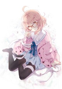 Rating: Safe Score: 38 Tags: domotolain kuriyama_mirai kyoukai_no_kanata pantyhose seifuku User: blooregardo
