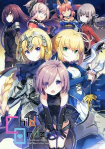 Rating: Safe Score: 26 Tags: animal_ears armor bodysuit dress fate/grand_order florence_nightingale_(fate/grand_order) garter h2so4 japanese_clothes jeanne_d'arc jeanne_d'arc_(fate) mash_kyrielight miyamoto_musashi_(fate/grand_order) saber scathach_(fate/grand_order) sword tamamo_no_mae uniform User: kiyoe