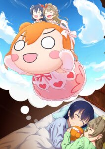 Rating: Safe Score: 24 Tags: dress kousaka_honoka love_live! minami_kotori pajama sheets sonoda_umi tagme User: Spidey