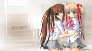 Rating: Safe Score: 14 Tags: hinoue_itaru kamikita_komari key little_busters! na-ga natsume_rin seifuku wallpaper User: girlcelly