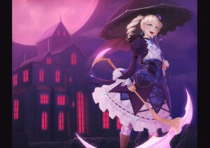 Rating: Safe Score: 15 Tags: aikatsu! gothic_lolita kedama_keito lolita_fashion toudou_yurika weapon wings User: Mr_GT