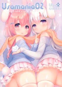 Rating: Safe Score: 14 Tags: animal_ears bunny_ears mani tagme thighhighs usashiro_mani User: kiyoe