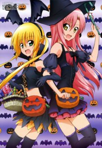Rating: Safe Score: 40 Tags: devil dress halloween hayate_no_gotoku hayate_no_gotoku_can't_take_my_eyes_off_you katsura_hinagiku oohashi_sachiko sanzenin_nagi thighhighs wings witch User: Jigsy