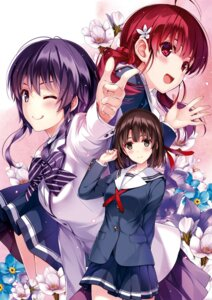 Rating: Questionable Score: 21 Tags: misaki_kurehito possible_duplicate saenai_heroine_no_sodatekata User: Twinsenzw