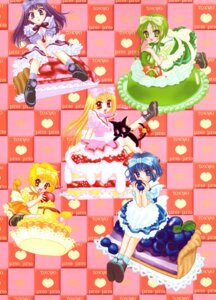 Rating: Safe Score: 4 Tags: aizawa_mint fong_pudding fujiwara_zakuro ikumi_mia megane midorikawa_lettuce neko shirayuki_berry tail tokyo_mew_mew waitress User: charunetra