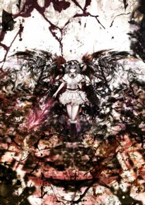Rating: Safe Score: 8 Tags: rasha remilia_scarlet touhou wings User: blooregardo