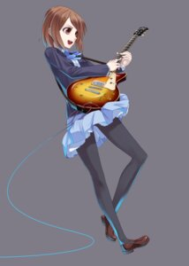Rating: Safe Score: 14 Tags: guitar hamada_youho hirasawa_yui k-on! pantyhose seifuku User: santos-san