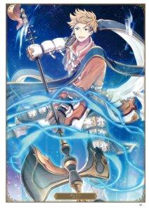 Rating: Questionable Score: 5 Tags: granblue_fantasy hiroichi male vane_(granblue_fantasy) weapon User: Twinsenzw