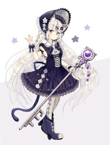 Rating: Safe Score: 28 Tags: animal_ears dress heels lolita_fashion nekomimi sakura_oriko tagme tail User: john.doe