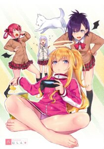 Rating: Questionable Score: 28 Tags: feet gabriel_dropout kurumizawa_satanichia_mcdowell nishimi_shin pantsu resort_ukami seifuku shiraha_raphiel_ainsworth sweater tenma_gabriel_white tsukinose_vignette_april wings User: kiyoe