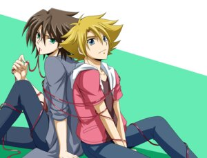 Rating: Safe Score: 1 Tags: cardfight_vanguard kai_toshiki male miwa_taishi tsunoda_wei User: charunetra