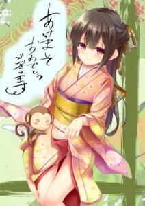 Rating: Questionable Score: 34 Tags: amane_mafuyu_(artist) kimono pantsu skirt_lift User: Mr_GT
