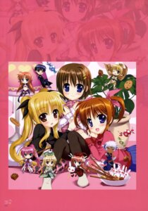 Rating: Questionable Score: 15 Tags: animal_ears arf chibi chrono_harlaown dress fate_testarossa fujima_takuya mahou_shoujo_lyrical_nanoha mahou_shoujo_lyrical_nanoha_vivid pantyhose shamal signum tail takamachi_nanoha thighhighs vita weapon yagami_hayate yuuno_scrya zafira User: drop